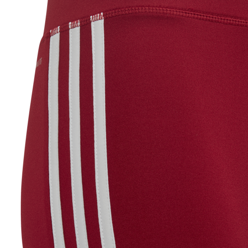 LEGGINSY JUNIOR ADIDAS 3/4 EQUIPMENT 3-STRIPES CZERWONE ED6281